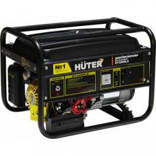 Бензиновый электрогенератор Huter DY3000LX-электростартер