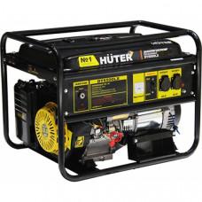 Бензиновый электрогенератор Huter DY6500LX с электростартером