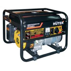 Бензиновый электрогенератор Huter DY4000LX с электростартером